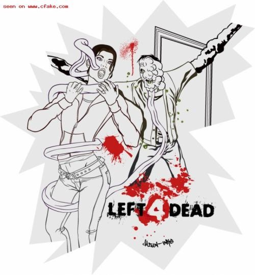 Left 4 Dead Francis Naked
